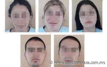Caen cinco por robo en domicilio de las Lomas - El Sol de San Luis