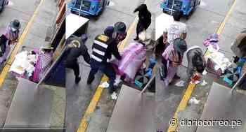 Agentes de la policía municipal de Huaraz arrebatan mercadería a vendedora de quesos en Áncash (VIDEO) - Diario Correo