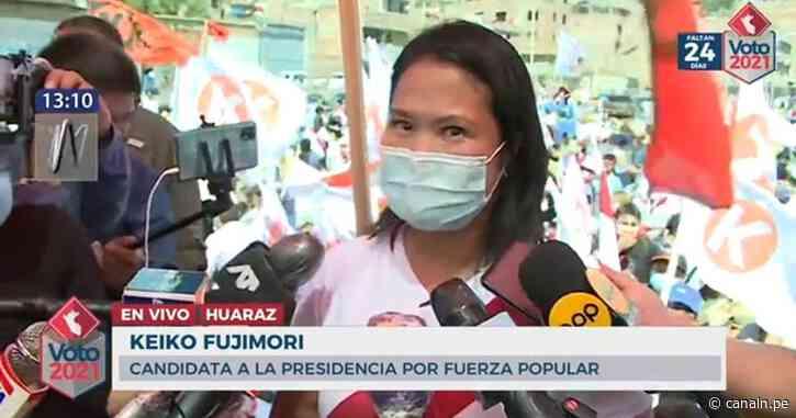 Segunda vuelta: Keiko Fujimori y su accidentada visita a Huaraz - Canal N