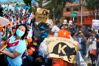 Pobladores de Huaraz rechazaron presencia de Keiko Fujimori (VIDEO) - El Búho.pe