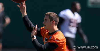 Cincinnati Bengals Sign Eric Dungey After Mini-Camp Workout - Sports Illustrated