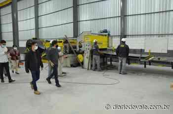 Pinheiral recebe duas novas empresas de aço no Polo Industrial do... - Diario do Vale