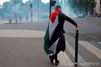 Palestinian march in Paris defies ban, is met by tear gas