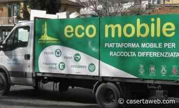 A Casagiove il progetto Ecomobile, una stazione itinerante per la raccolta dei rifiuti speciali | - CasertaWeb