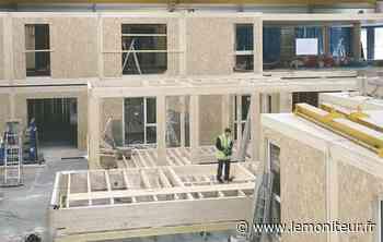 Bobigny : une extension modulaire en bois pour le tribunal - Moniteur