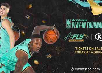 Hornets to Increase Spectrum Center Capacity for State Farm Play-In Tournament and First Round of NBA Playoffs
