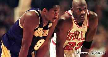 """""""Genialer Tequila"""" - Michael Jordan: Sein letzter Chat mit Kobe Bryant - Krone.at"""
