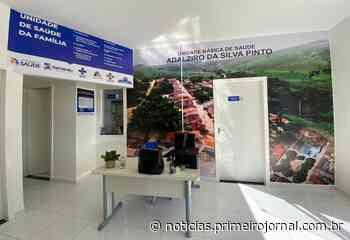 Inaugurada unidade de saúde em Piragi, distrito de Itamaraju - - PrimeiroJornal