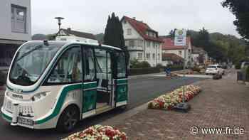 Bad Soden-Salmünster: Erstes autonom fahrendes Vehikel unterwegs - Frankfurter Rundschau