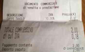 """Como, la lettera: """"Perché resto basito per quel caffè al tavolino pagato 2 euro. Lì non andrò più"""" - ComoZero"""