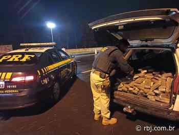 Após perseguição, PRF apreende carro carregado com maconha em Laranjeiras do Sul - RBJ