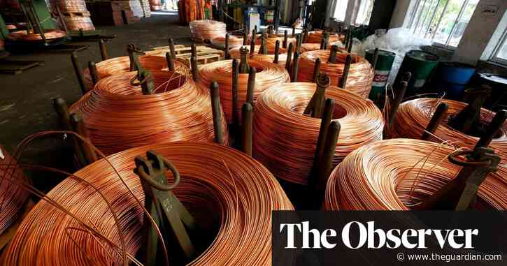 Record metals boom may threaten transition to green energy