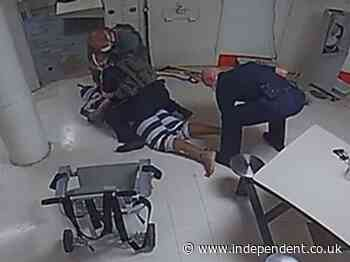 Sheriff deputies seen on video using a Taser on Black man who died in jail cell