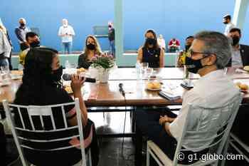 No segundo dia no Triângulo, Zema se reúne com professores em Frutal e inaugura nove sede do fórum de Araguari - G1