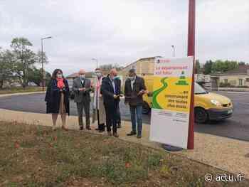 Gironde. Beautiran : le giratoire des Ponts a été inauguré par Jean-Luc Gleyze et Philippe Barrère - actu.fr