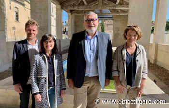 DÉPARTEMENTALES Pont-Saint-Esprit : Christophe Serre et Carole Bergeri défendent leur bilan et leur sérieux - Objectif Gard