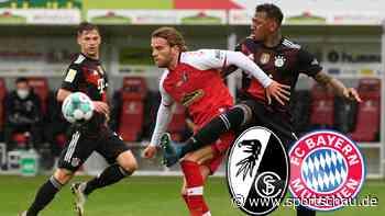 SC Freiburg gegen FC Bayern München: 2:2, 33. Spieltag