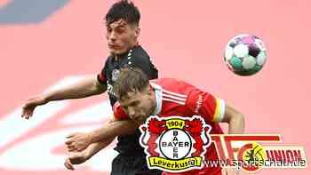 Bayer Leverkusen gegen 1. FC Union Berlin: 1:1, 33. Spieltag