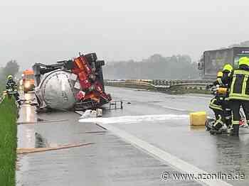 Gescher: Autobahn weiterhin gesperrt - Gescher - Allgemeine Zeitung