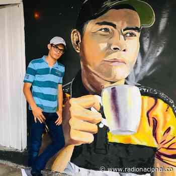 Darwin Delgado: murales de paz en San Calixto, Norte de Santander - http://www.radionacional.co/