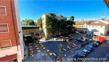 Reggio Emilia, tolti 11 posti auto in via Roma: al loro posto distese estive - Reggionline
