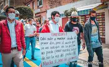 Alcalde de Paipa, Boyacá, investigado por unirse a protestas sociales - El País