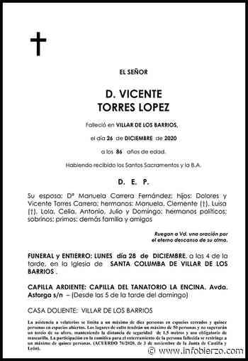 VICENTE TORRES LOPEZ – INFO BIERZO - Infobierzo.com