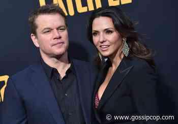 Matt Damon On The Verge Of Divorce, Per Reports - Gossip Cop