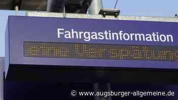 Personen auf den Gleisen zwischen Gablingen und Meitingen - Augsburger Allgemeine