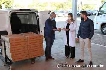 Santa Casa de Goioerê e o Hospital Santa Maria recebeu doações da Copacol para o combate a Covid - Arial