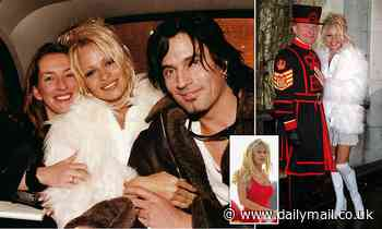 Pamela Anderson, Tommy Lee and what they told me about THAT sex tape, writes CAROLINE GRAHAM