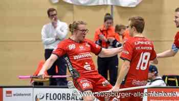 Keiner jubelt bei den Kauferinger Floorballern wie Moritz Leonhardt - Augsburger Allgemeine