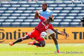 New York City FC irate at referee after Toronto FC rallies for a 1-1 draw