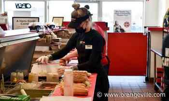 Orangeville sub shop donates 60 lunches to front-line staff on International Nurses' Day - Orangeville Banner