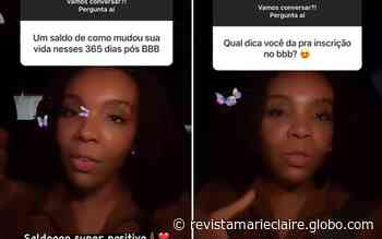 "Thelma Assis avalia vida pós-BBB: ""Saldo super positivo"" - Marie Claire Brasil"