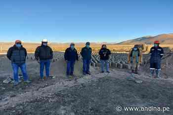 Tacna: Agro Rural inicia coordinaciones para construcción de represa Callazas en Candarave - Agencia Andina