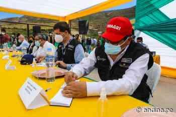 Tacna: Gobierno alcanza acuerdos en mesa de diálogo de Candarave - Agencia Andina