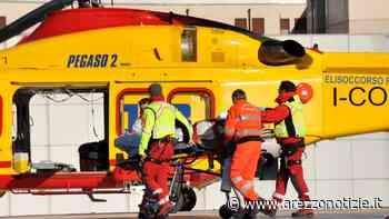 Schianto in moto a 18 anni: soccorso in elicottero in codice rosso - ArezzoNotizie