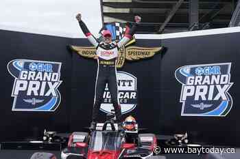 Rinus VeeKay becomes IndyCar's newest first-time winner
