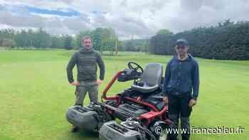 """Gaillon : les jardiniers du terrain de golf pour rendre le """"green"""" plus vert - France Bleu"""