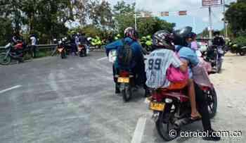 Restringido tráfico vehicular entre Cartagena y Turbaco por protestas - Caracol Radio