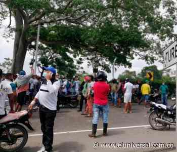 Siguen protestas en apoyo al paro nacional, bloquean la vía a Turbaco - El Universal - Colombia