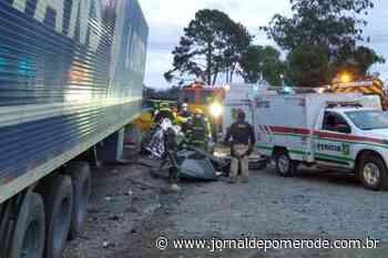 Vítimas fatais do acidente na BR-470 são identificadas - Jornal de Pomerode