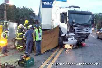 Três pessoas morrem em acidente, na BR-470, em Blumenau - Jornal de Pomerode