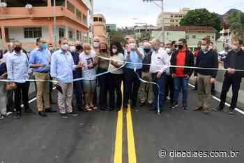 Governador inaugura ponte destruída pela chuva em Alfredo Chaves » Jornal Dia a Dia - Notícias do Espirito Santo e do Brasil - Dia a Dia Espírito Santo