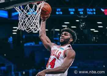 Patrick Williams scores career-best 24, Bulls fall to Brooklyn