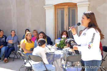 Norma Castorena se reúne con mujeres en Sombrerete » FresnilloMX - FresnilloMX