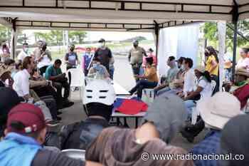 Manifestantes despejarán voluntariamente la vía Panamericana en Jamundí, Valle - http://www.radionacional.co/