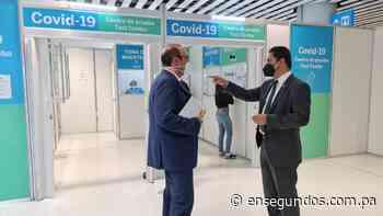 Defensoría recorre sitios de pruebas Covid-19 en aeropuerto de Tocumen - En Segundos