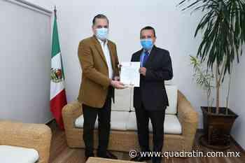 Andrés Calvillo, nuevo titular en la Dirección de Empleo de Sedeco - Quadratín - Quadratín Michoacán